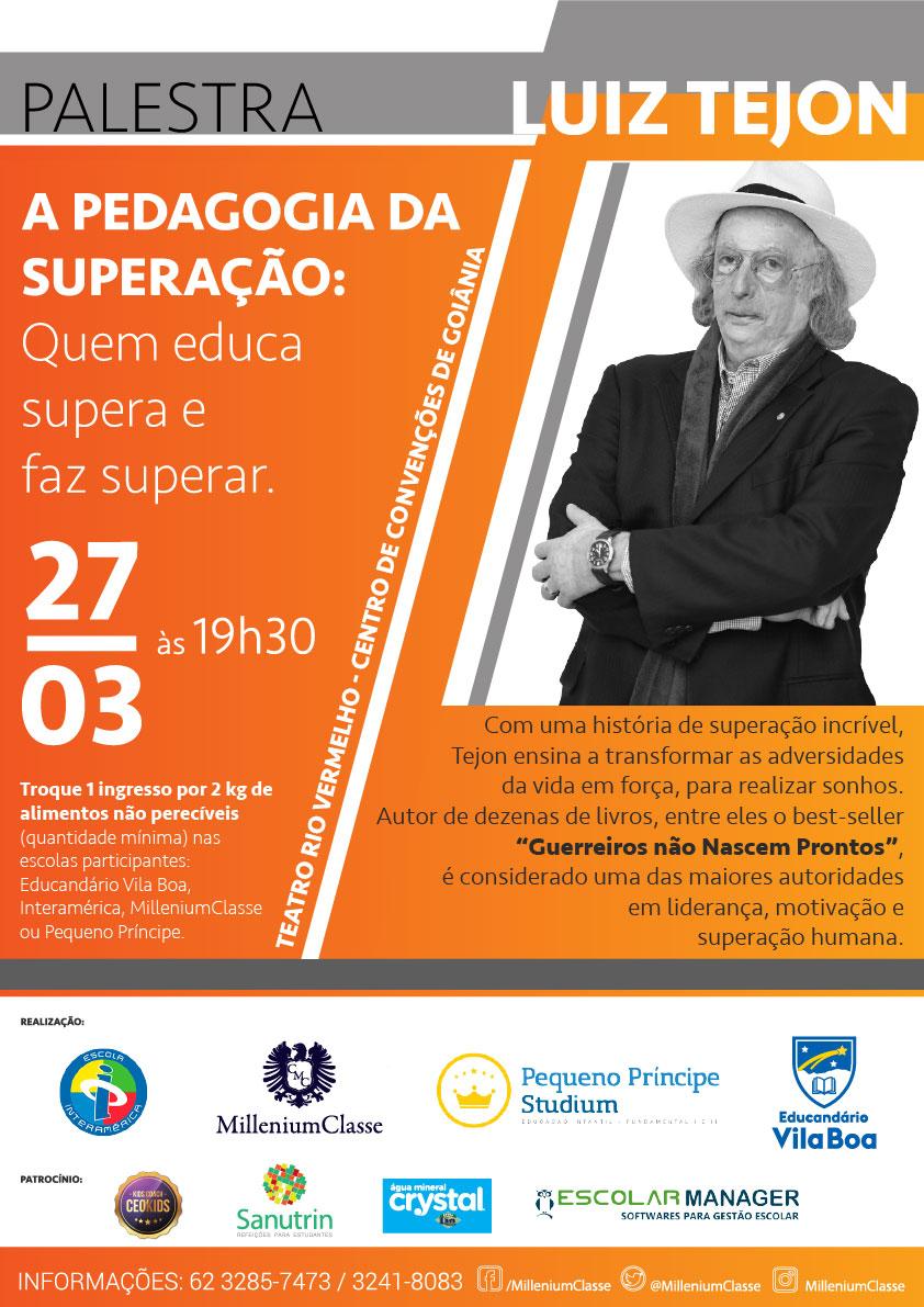 Palestra Luiz Tejon Notícias Educandário Vila Boa